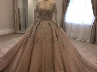 Paolo Sebastian Wedding Dress For Sale