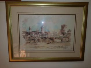 paints and frames from England