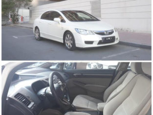 (A) HONDA CIVIC 2009 MODEL GULF SPECIFICATION FOR SALE