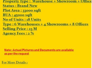 GREAT RETURN ON YOUR INVESTMENT ! BRAND NEW WAREHOUSE + SHOWROOM + OFFICE FOR SALE