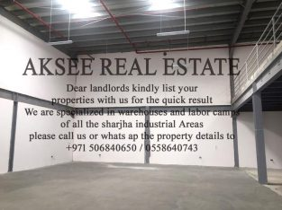 GREAT RETURN ON YOUR INVESTMENT I Showroom + Warehouse For Sale In industrial Area 18 Sharjah