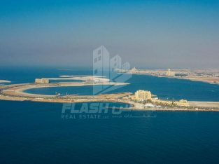 Mix-used Land Beachfront for Sale in Al Murjan Island