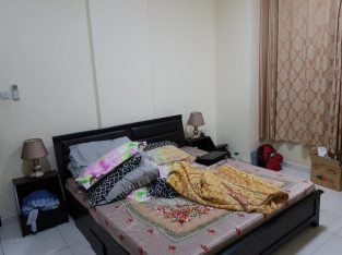 A spacious room available with bath for Executive bachelor/couple