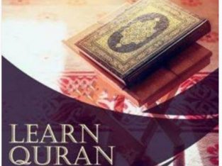 learn Quran Kareem with tajweed Home tuition available