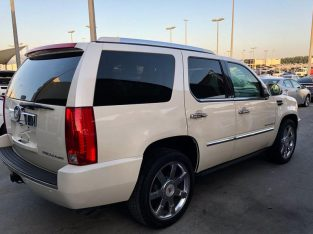 Cadilac Escalade – 2008 – fully option – accident free