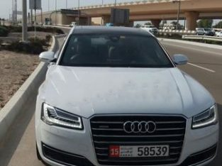Well maintained AUDI A8 – expat owner leaving the country