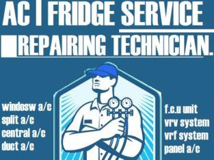 Air Conditioner Ac Fridge Refrigerator Service Repairing Cleaning in Dubai