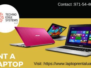 Laptop Rental Service in dubai . lease a laptop now @Techno Edge